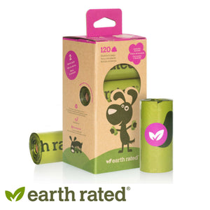 Earth Rated Dog Poop Bags Refill Pack Scented Rolls