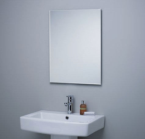 Frameless Mirror