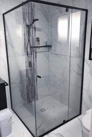Premium Semi-Frameless Shower Screen