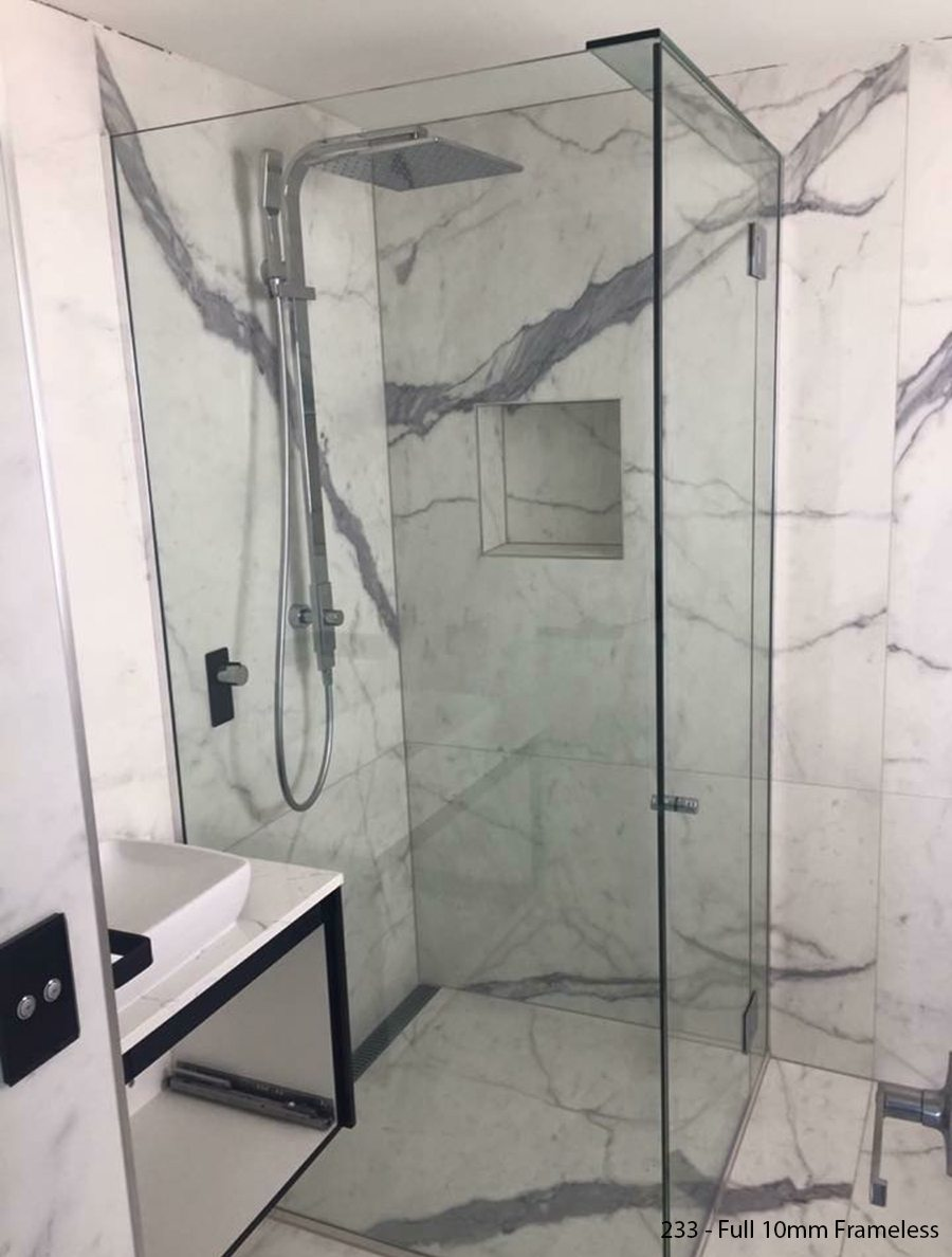 Frameless Shower Screen