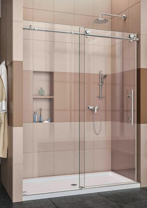 Slider Frameless Shower