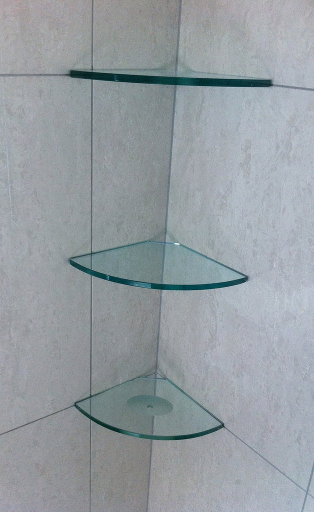 Glass Shower Shelving