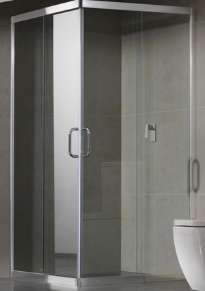 Slider Semi-Frameless Shower