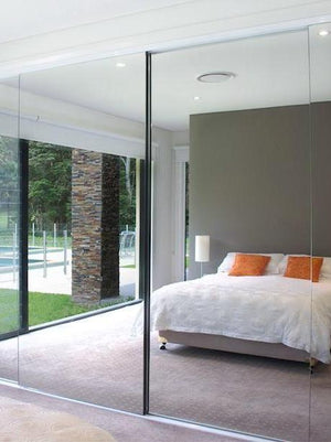 Semi-Frameless Wardrobe Doors
