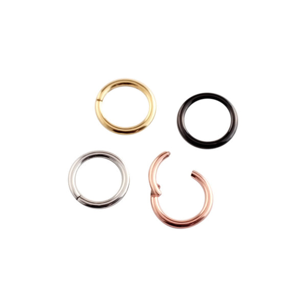 18g Hinged Segment Ring- 316L Surgical Steel