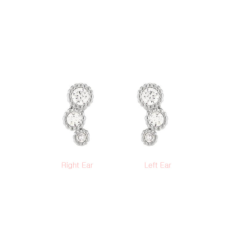 Curve Trio Cartilage Earring
