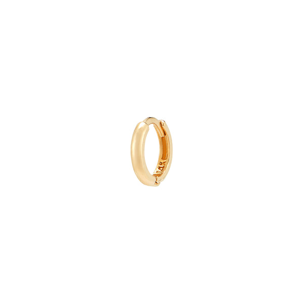 5mm Slim Huggie Hoop- 14K Gold