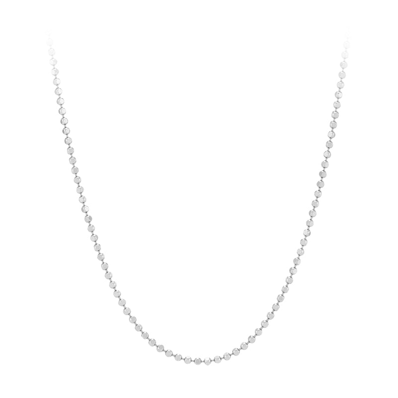 Ball Chain Necklace- Sterling Silver