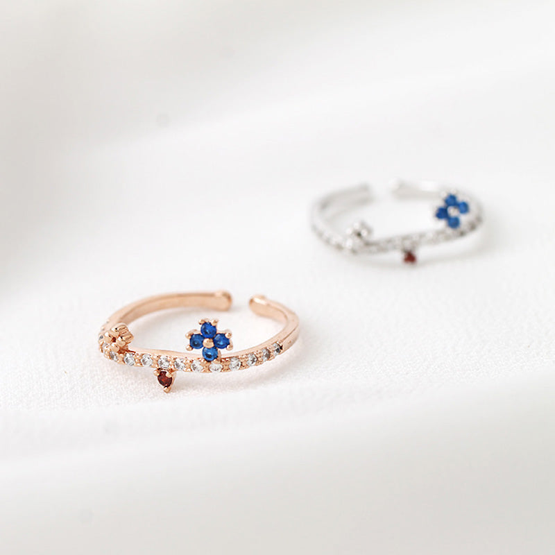 rings rose flavor add img a ring stunning to your gold clover sparkles style eternal spring
