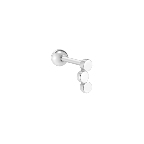 Triple Dot Stud Piercing- Sterling Silver