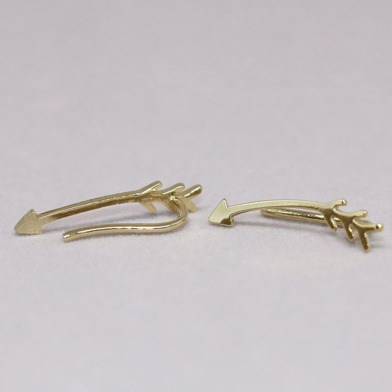 Arrow Ear Climber Earrings