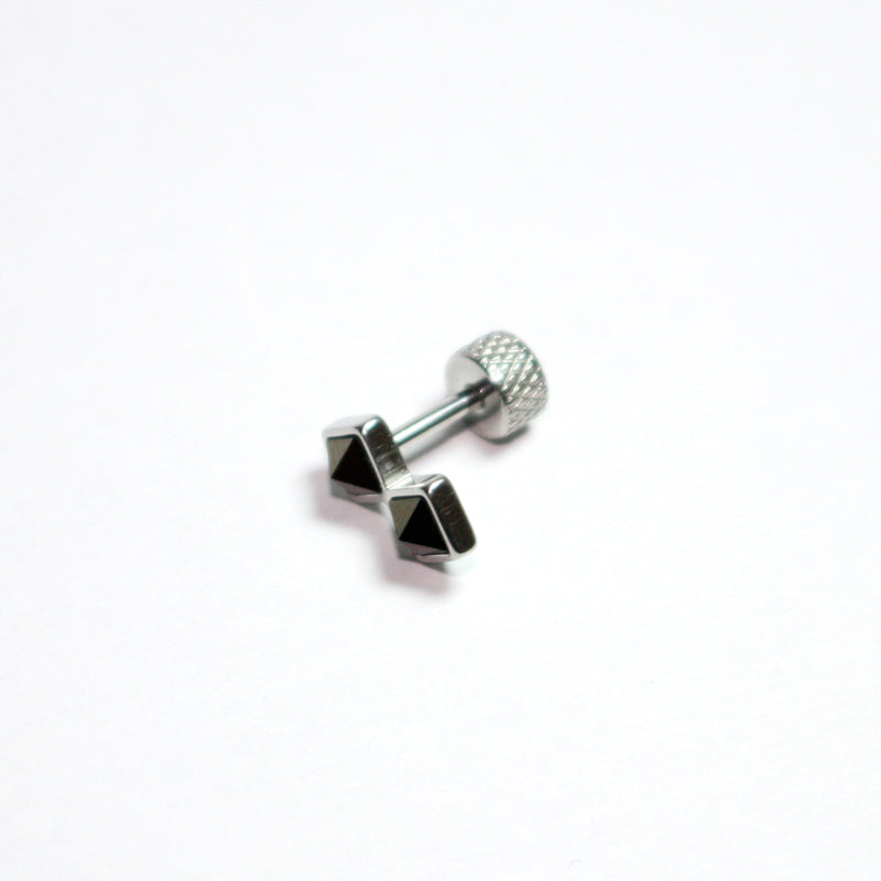 16g black cartilage barbells