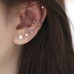 Bubble Cartilage Ear Cuff