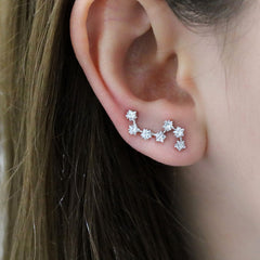 Star Constellation Ear Climbers