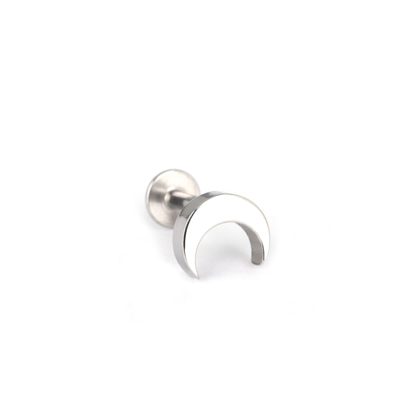 Crescent Moon Cartilage Piercing- 316L Stainless Steel