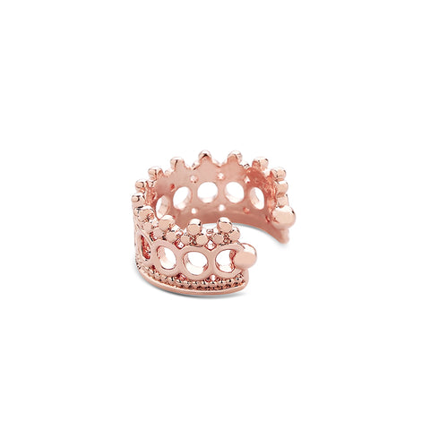 Crown Ear Cuff Earring