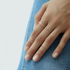 Basic Band Ring- Sterling Silver