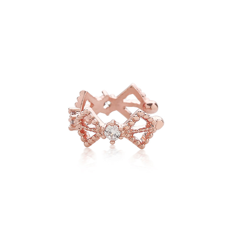 ear cuff earring in rose gold