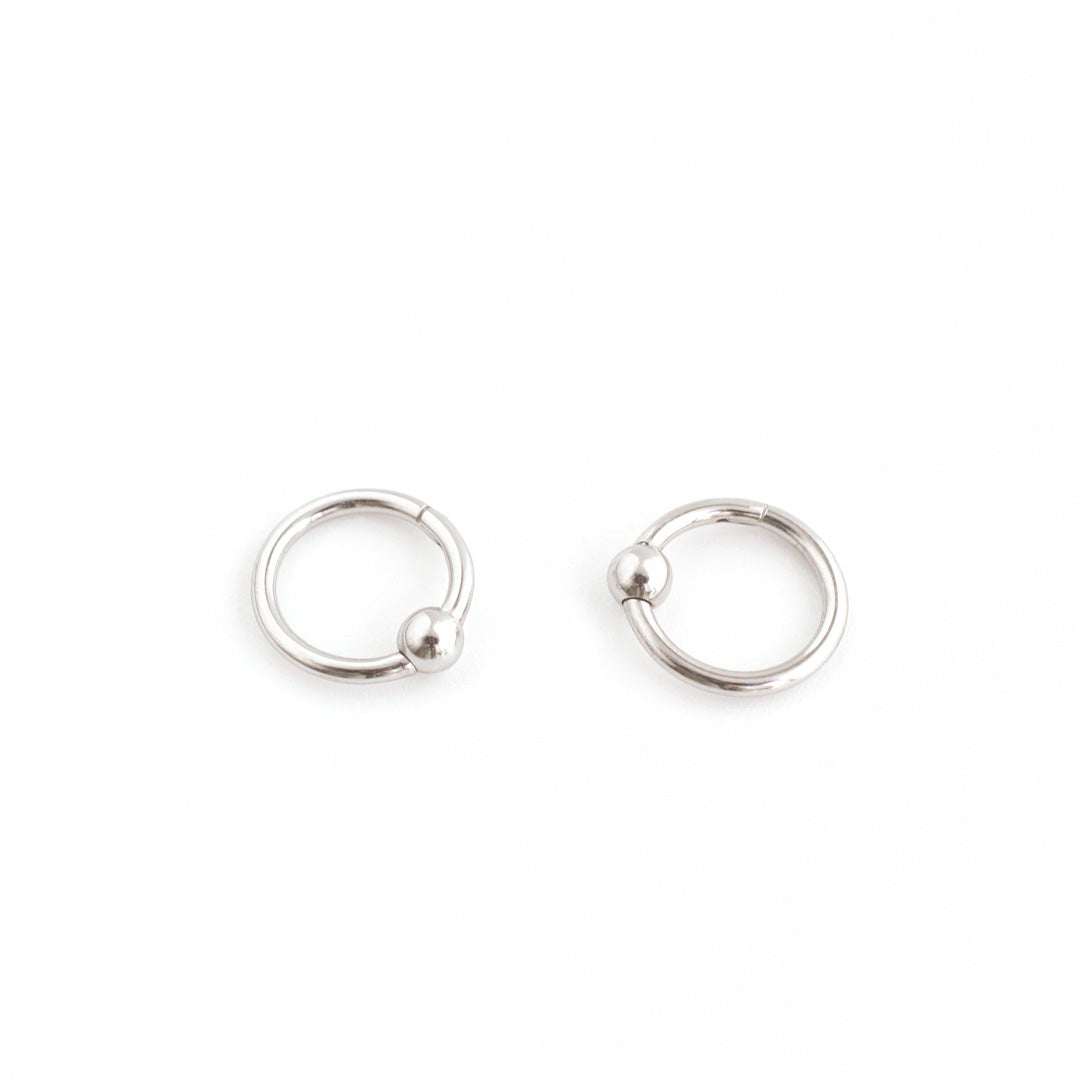 Hinged Captive Bead Ring- 316L Stainless Steel