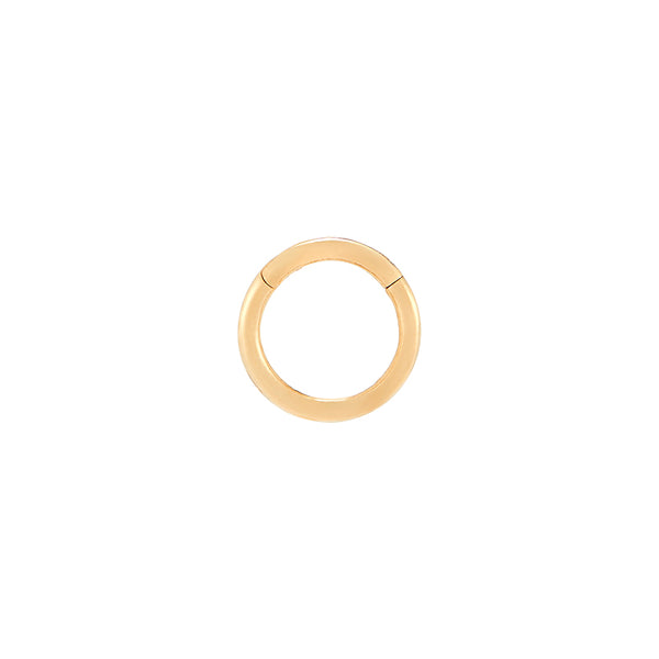 Plain Clicker Ring- 14K Gold