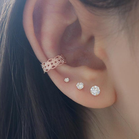 lace ear cuff cartilage earring