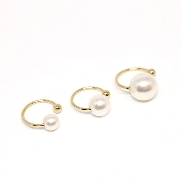 Simple Pearl Ear Cuff