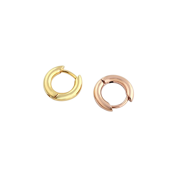 316L Stainless Steel Small Hoop Earrings