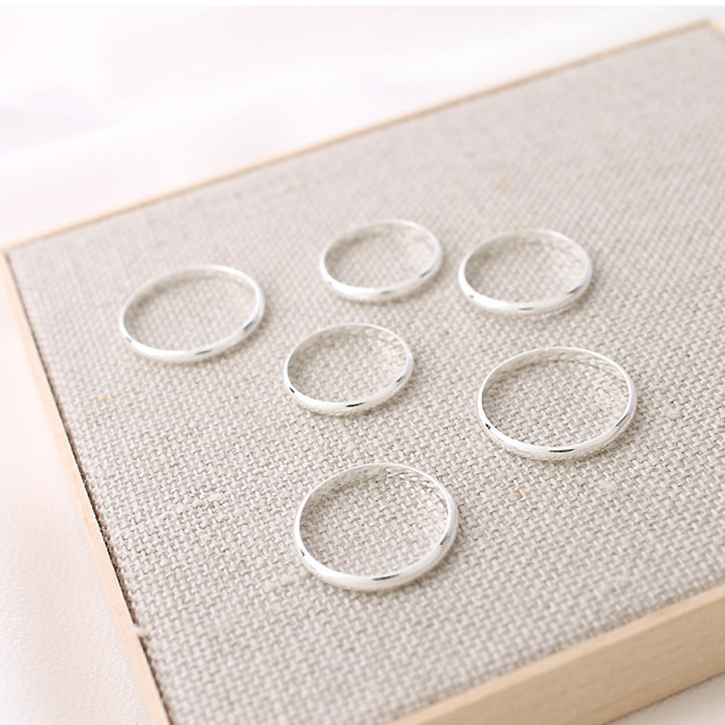 knuckle midi rings made from sterling silver