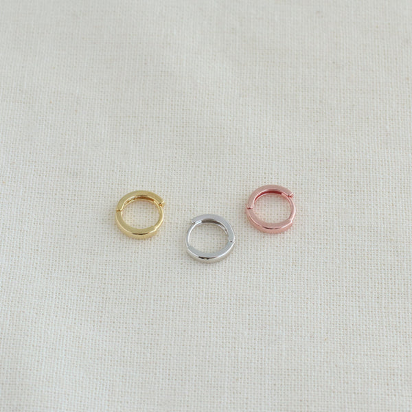 Tiny Cartilage Huggie Hoop Earrings - 5mm, 6mm