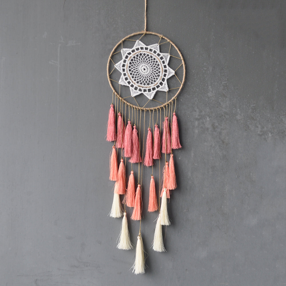 Artilady Handmade Pink Dream Catcher Artilady Jewelry