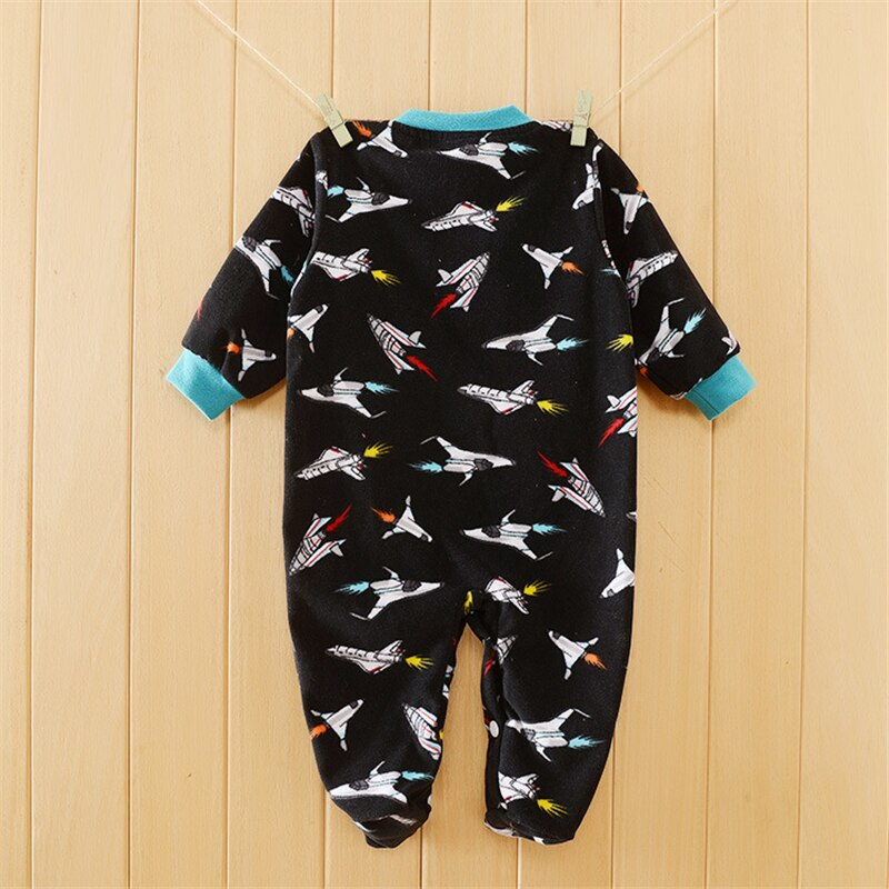 Baby Boy Super Rocket Romper