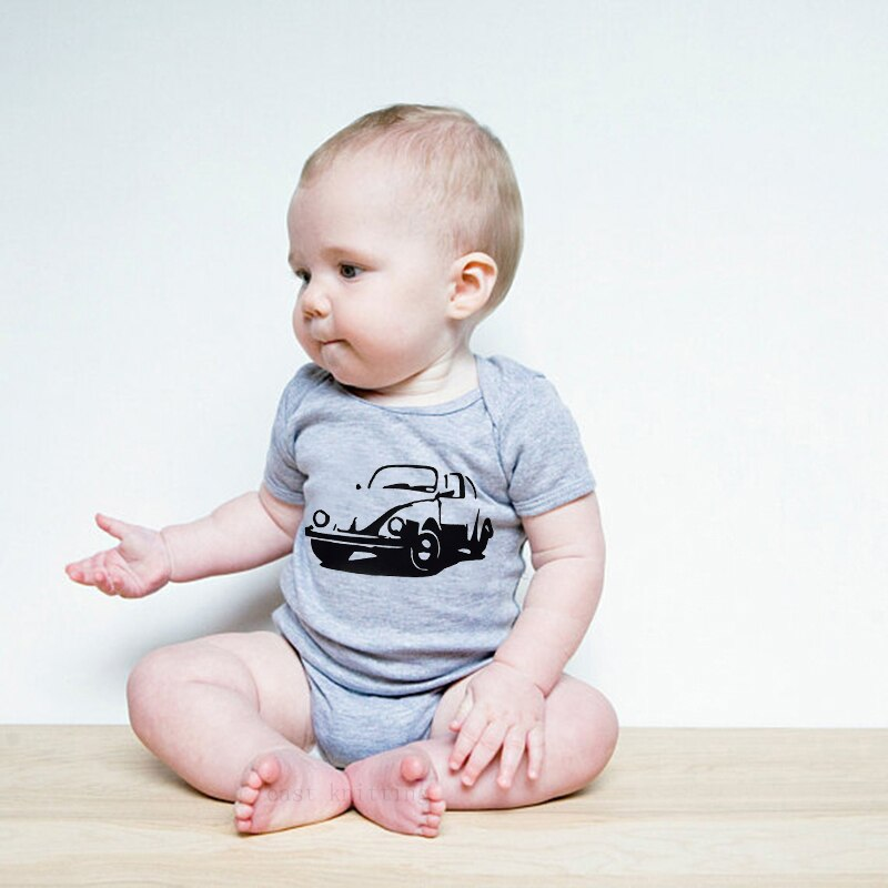 Baby Boy WV Beetle Bodysuit