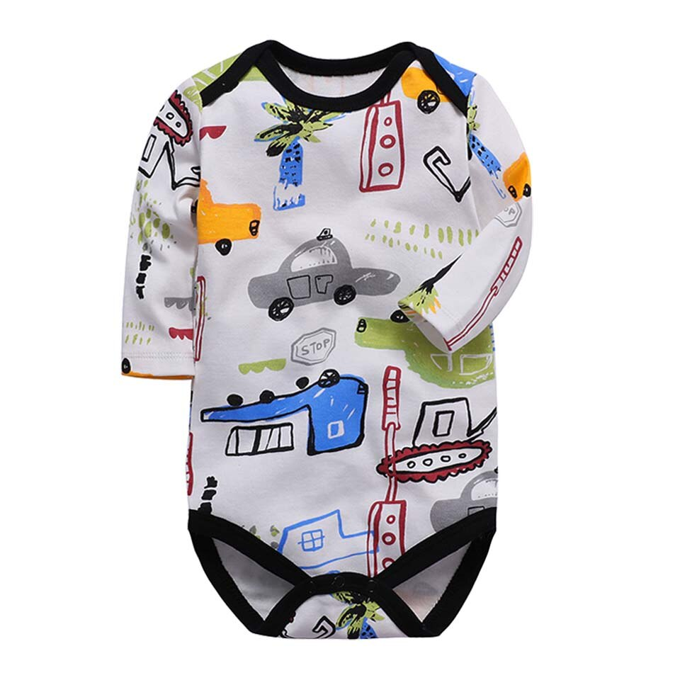 Baby Boy Cars and Trucks Drawings Bodysuit