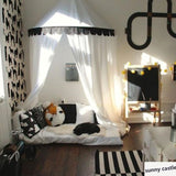 Black White Nordic Style Half Tent Canopies - Lollabuy