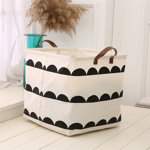Canvas Printed Folding Organizer Toys Storage - Lollabuy