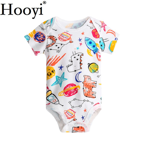 Baby Boy Space Drawings Bodysuit