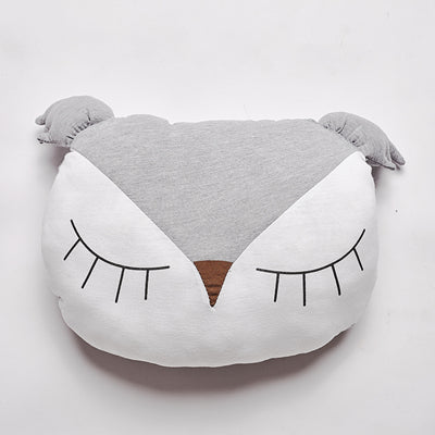 Sleeping Owl Nordic Style Pillow  - Lollabuy