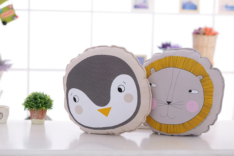 Lion Penguin Bear Nordic Pillow  - Lollabuy