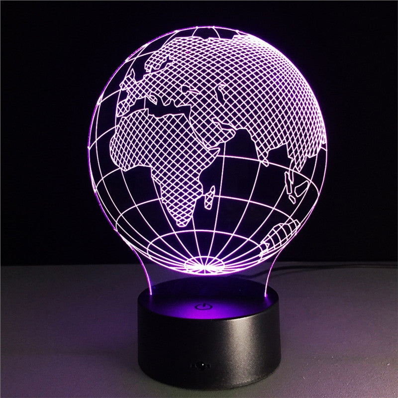 3D Country Night Lamp