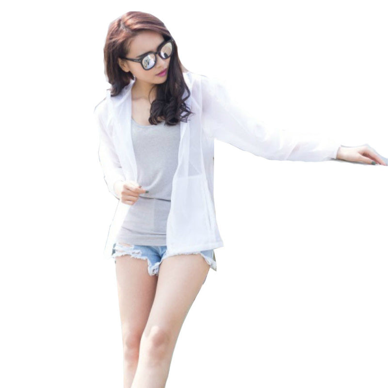 Beach Clothes Anti UV Coat Outdoor Sun Protection Clothing Sunscreen Jacket