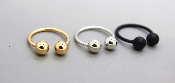 Simple Small Ball Rings