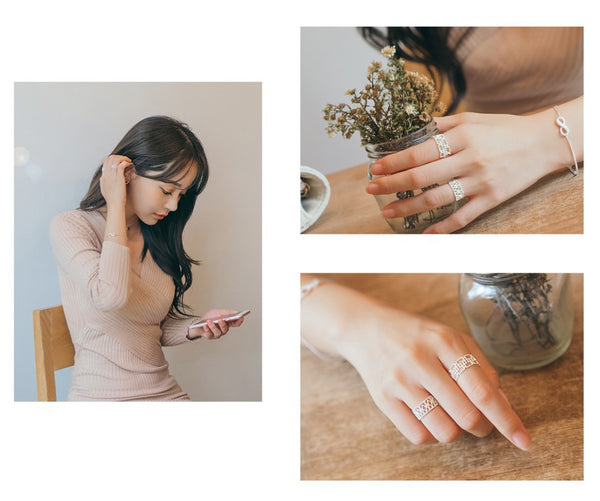 Geometry Lace Ring
