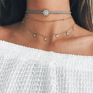 Sunflower Chokers