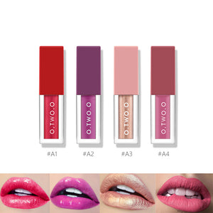 4 Color Non Stick Lip Gloss Kit - Heyloveit