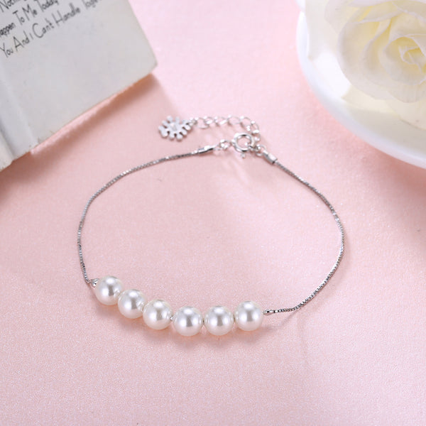 Sterling Silver Pearls