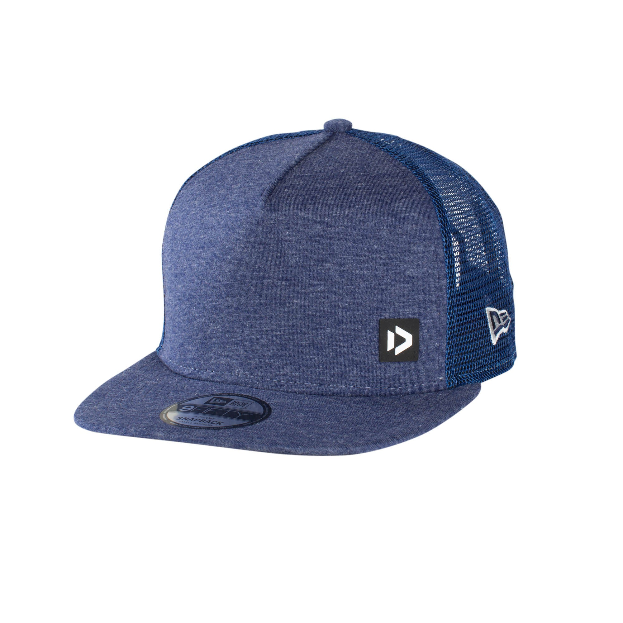 NEW ERA CAP 9FIFTY A-FRAME BUTTON BLUE