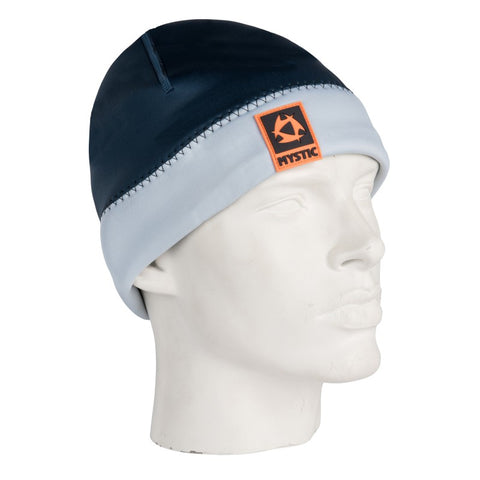 BEANIE 2MM NAVY/GREY