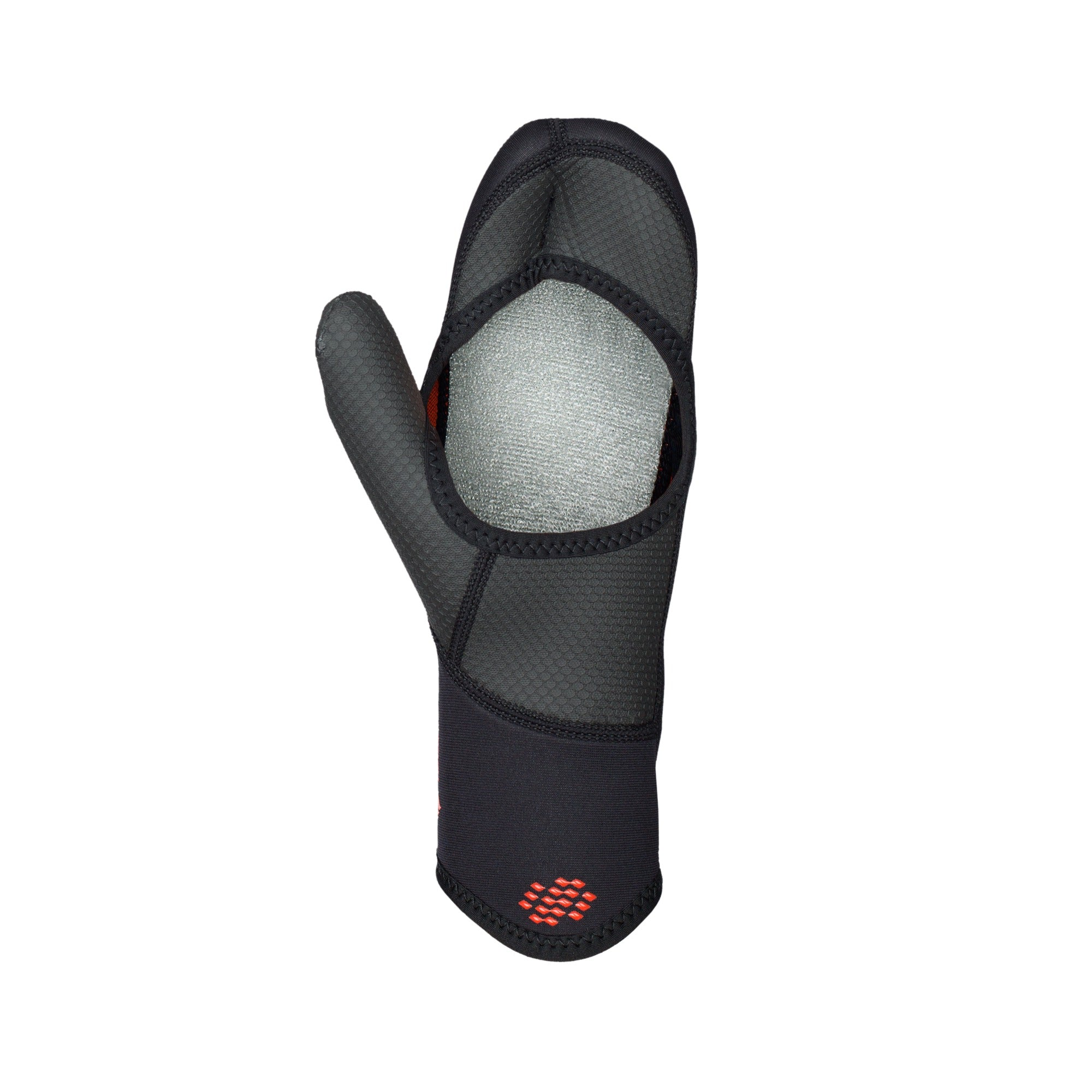 OPEN PALM MITTENS 2,5 BLACK