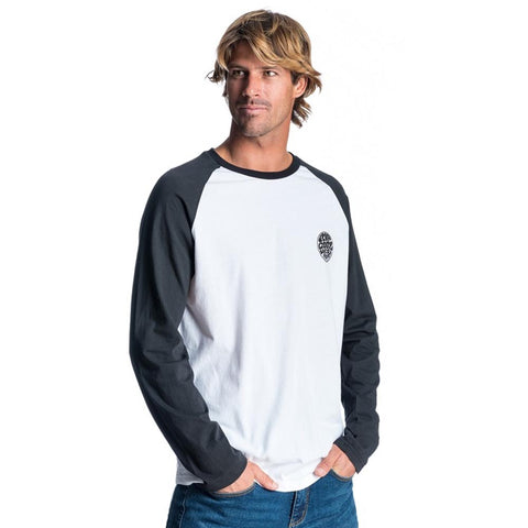 ORIGINAL RAGLAN TEE BLACK/WHITE