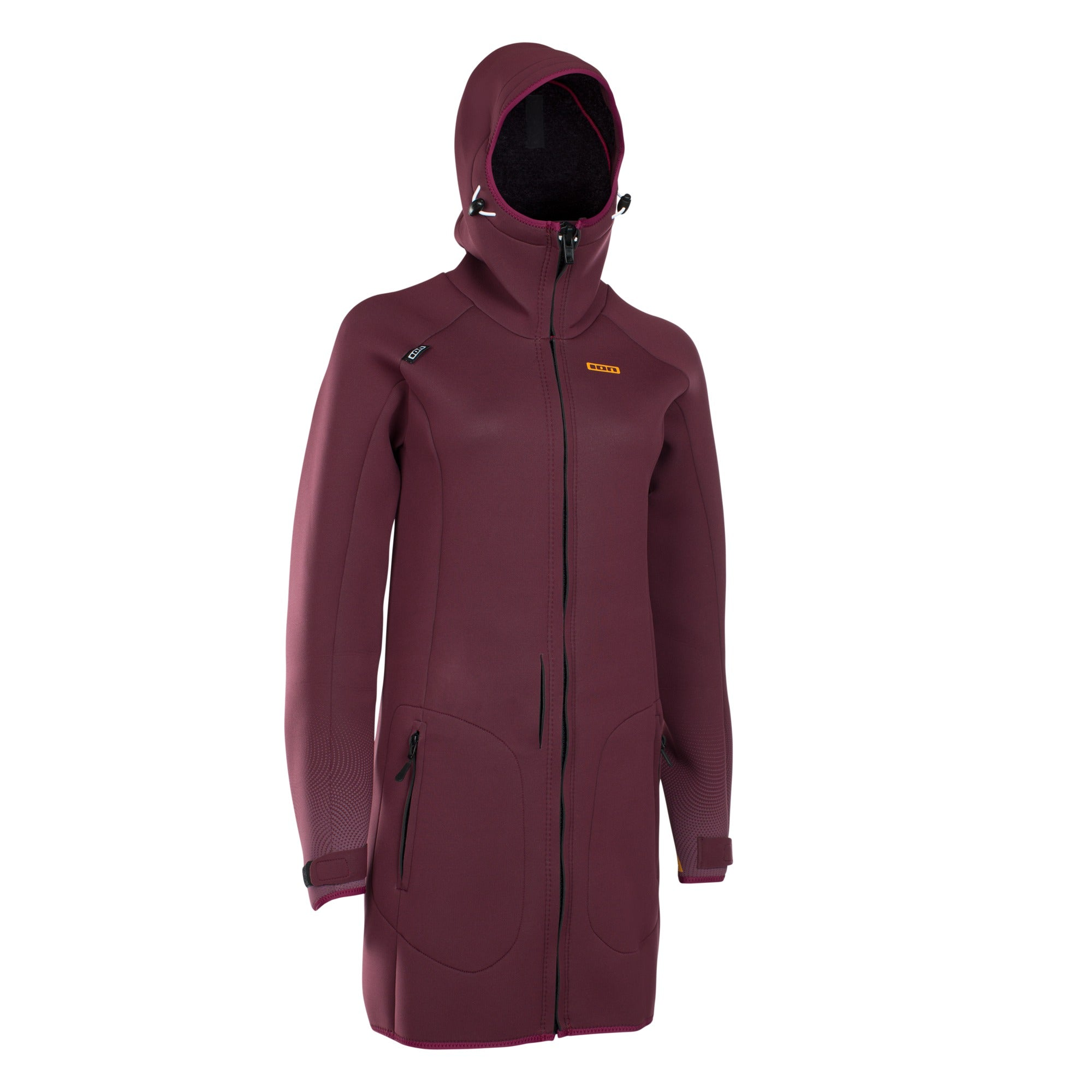 NEO COSY COAT DARK BERRY